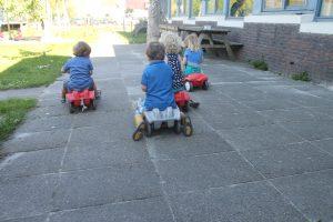 Kinderopvang Bambaloe Groningen Zuid - buiten spelen